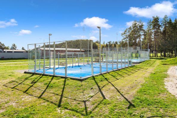 Tennisanlegget på Bjertnestangen