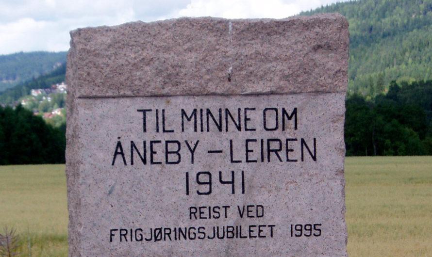 Krigsminnesmerket over Åneby-leiren