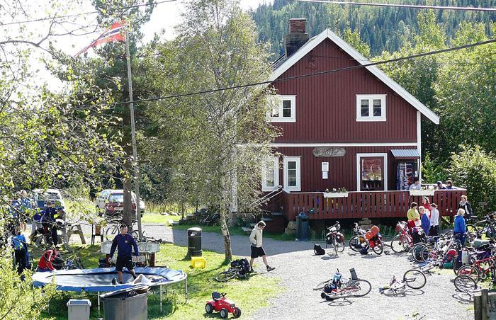 Bjørnholt Gård ved Bjørnsjøen