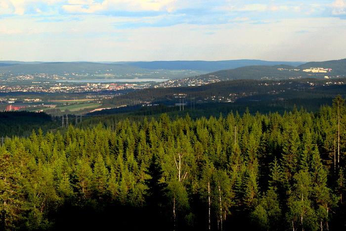 Brennberget – Lillomarkas høyeste topp
