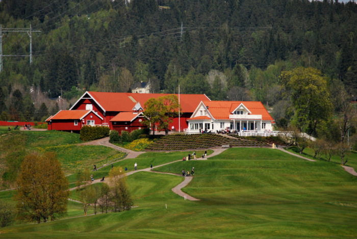 Hauger golfbane og golfklubb