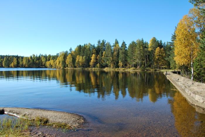 Langvann i Nordmarka