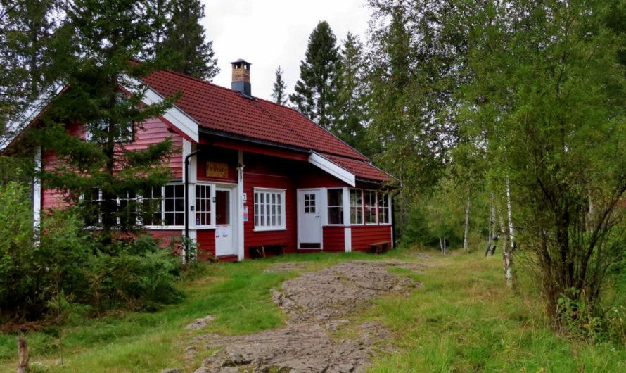 Fjellvang i Lillomarka (DNT-hytte)