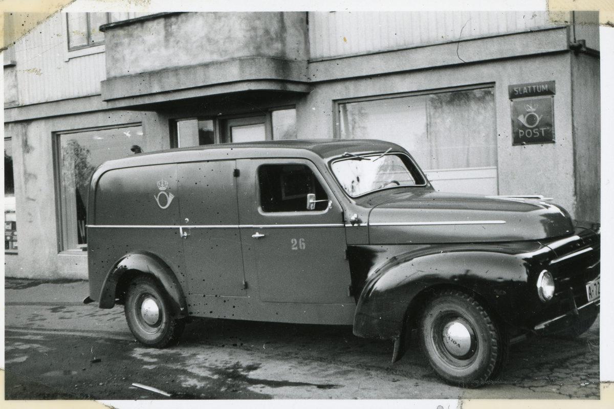 Poståpneri Slattum i Nittedal